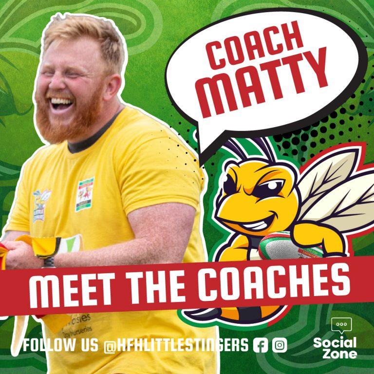 Little Stingers Meet The Coaches MATTY-01